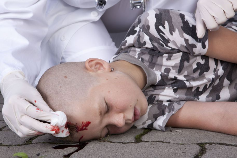 Lekki uraz głowy u dzieci - błaha sprawa czy duży problem diagnostyczno-terapeutyczny? Rola Infrascannera w procesie diagnostycznym