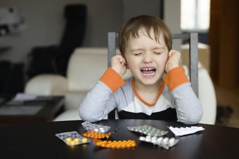 Leczenie objawowe infekcji otolaryngologicznych u dzieci