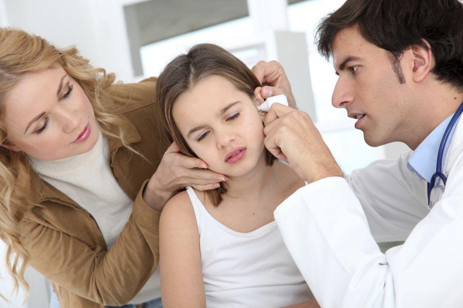 Postępowanie przy wyciekach z drenów wentylacyjnych u dzieci
