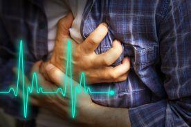 Zaniewidzenie połowicze w przebiegu zawału serca z uniesieniem odcinka ST ściany dolnej