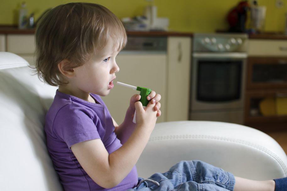 Farmakoterapia w zapaleniach krtani u dzieci