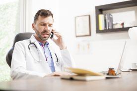 Ponad jedna czwarta porad lekarskich zdalnie