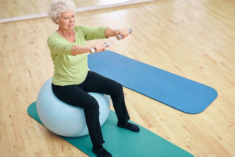 Badanie przydatności ćwiczeń profilaktycznych kręgosłupa lędźwiowo-krzyżowego w zapobieganiu utracie mineralnej masy kostnej u kobiet w okresie pomenopauzalnym