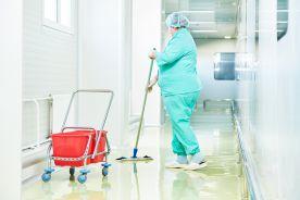Utrzymanie czystości pomieszczeń szpitalnych
