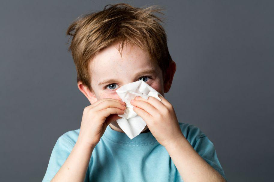 Alergiczny nieżyt nosa u dzieci