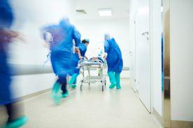 W głównym szpitalu koronawirusowym w Moskwie eksplodował tlen
